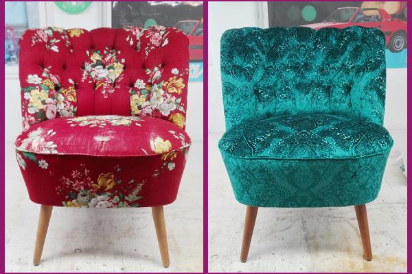 Sessel 1 – vorher/nachher